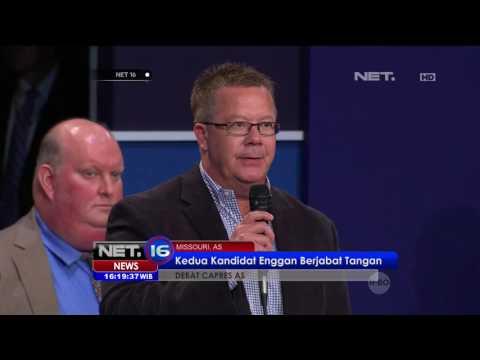 Perdebatan Sengit Calon Presiden Amerika Serikat - NET16
