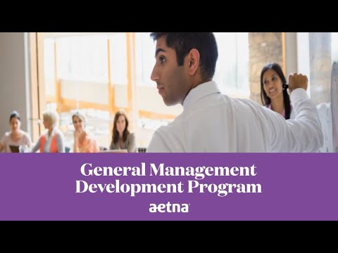 Aetna's General Management Development Program (GMDP)