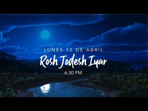 Rosh Jodesh Iyar 5781 - Inicio del 2o mes bíblico