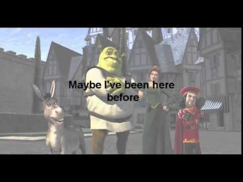 Hallelujah   Shrek song with Lyrics HD   YouTube