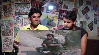 Pakistani Reacts To | Sholay movie best dialogues Kitne Aadmi Thay-anop khamiyada | Reaction Express