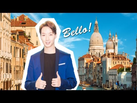 EXO'S MAKE UP ARTIST's 1st time in ITALY