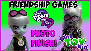 Photo Finish Equestria Girls Friendship Games Amazon Exclusive 2015 MLP Doll Review | Bin