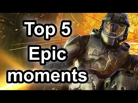 Top 5 - Epic moments in gaming