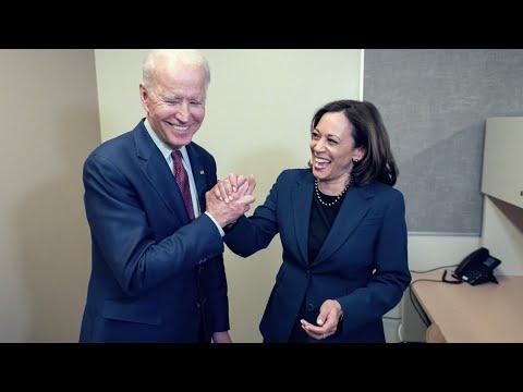 Joe Biden For President 2020 picks Kamala Harris as his running mate., From YouTubeVideos