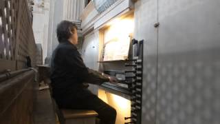 Dietrich Buxtehude - Praeludium in G minor BuxWV 163 ( G.Pauletta - organ ).