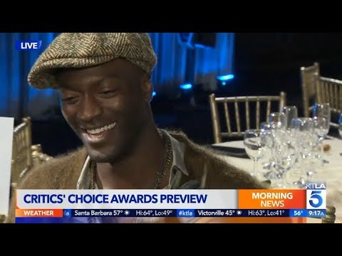 Aldis Hodge Talks Art on Stage and with Paint