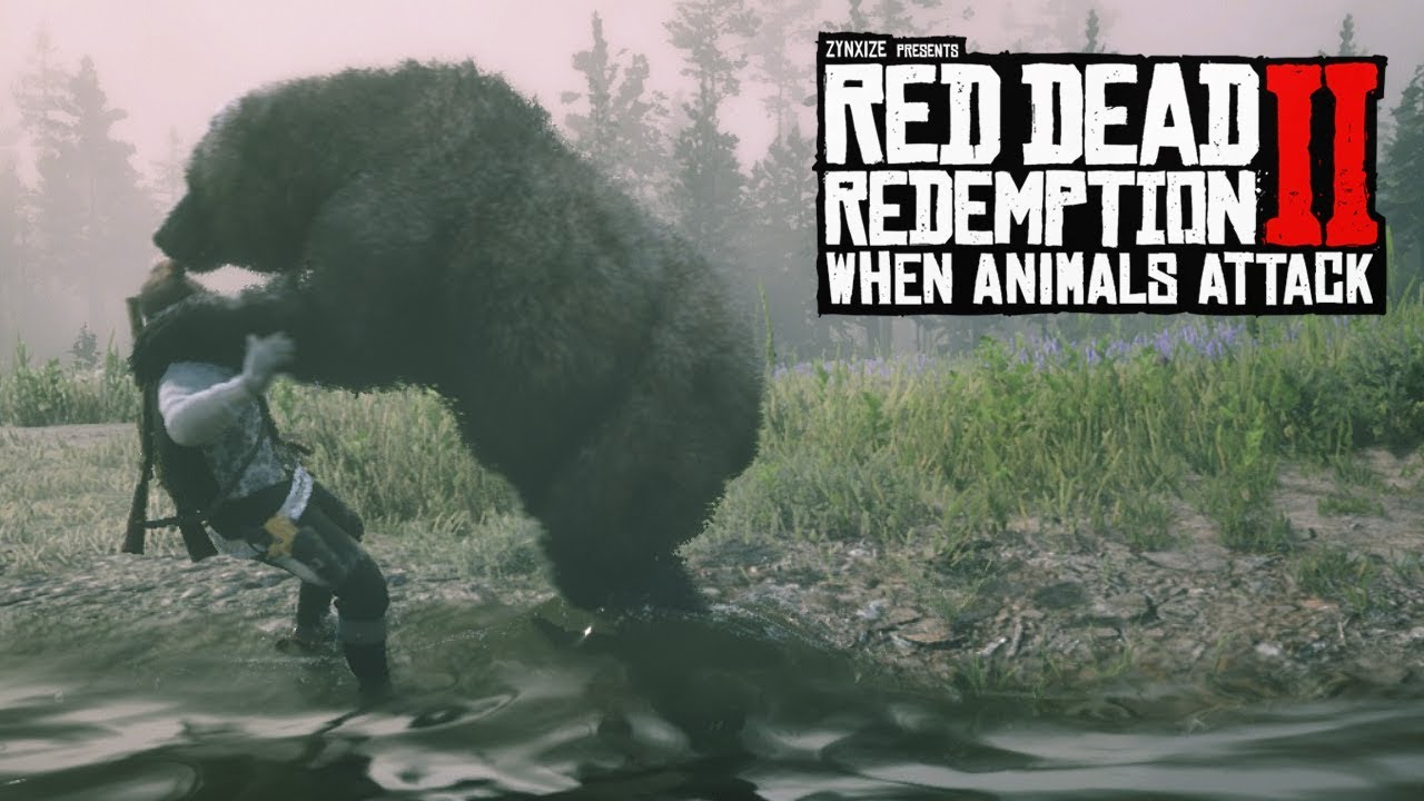 When Animals Attack #5 (Red Dead Redemption 2 Brutal Moments)