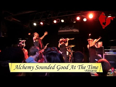Alesana Performs Alchemy Sounded Good At The Time Live : 10 Frail Years Of Vanity And Wax Tour 2016