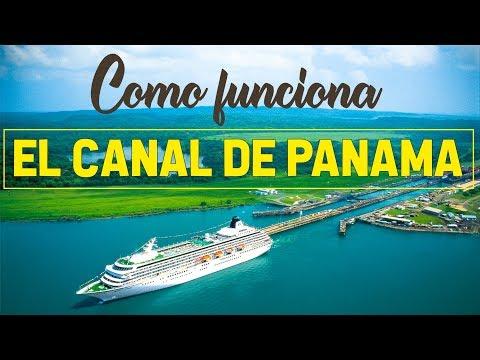 CANAL DE PANAMA HISTORIA Y COMO FUNCIONA