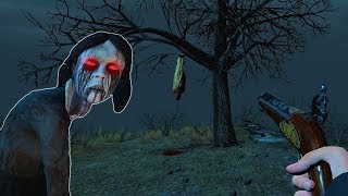 Симулятор Охоты на монстров в темном лесу СТРАШНАЯ игра как РЕЙК приехал в город и увидел нечто!!!