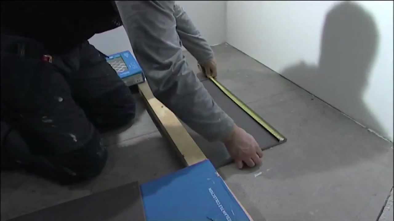 Kuivan tilan laatoitus