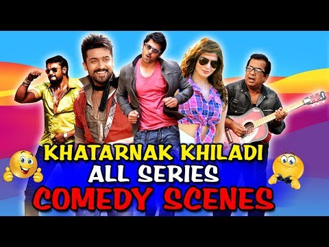 Khatarnak Khiladi All Series Comedy Scenes | South Indian Hindi Dubbed Best Comedy Scenes