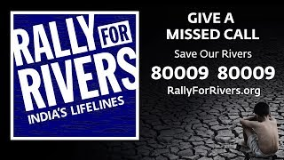 Rally for Rivers – Save India's Lifelines
