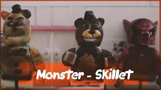 - Лего 5 ночей с Фредди Monster skillet
