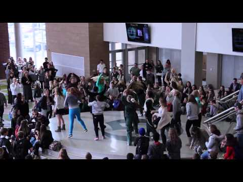 Olympus High School Footloose Flash Mob