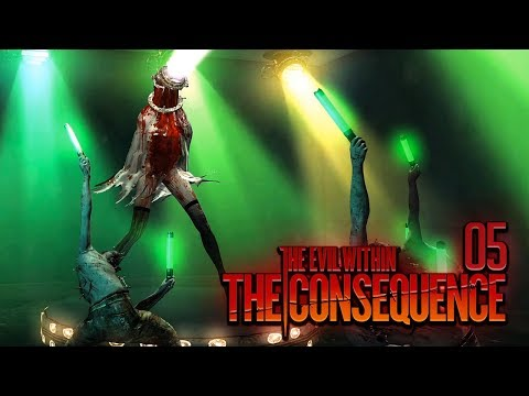 THE EVIL WITHIN: THE CONSEQUENCE [005] - EASTER EGG: Dance Dance Revolution!!