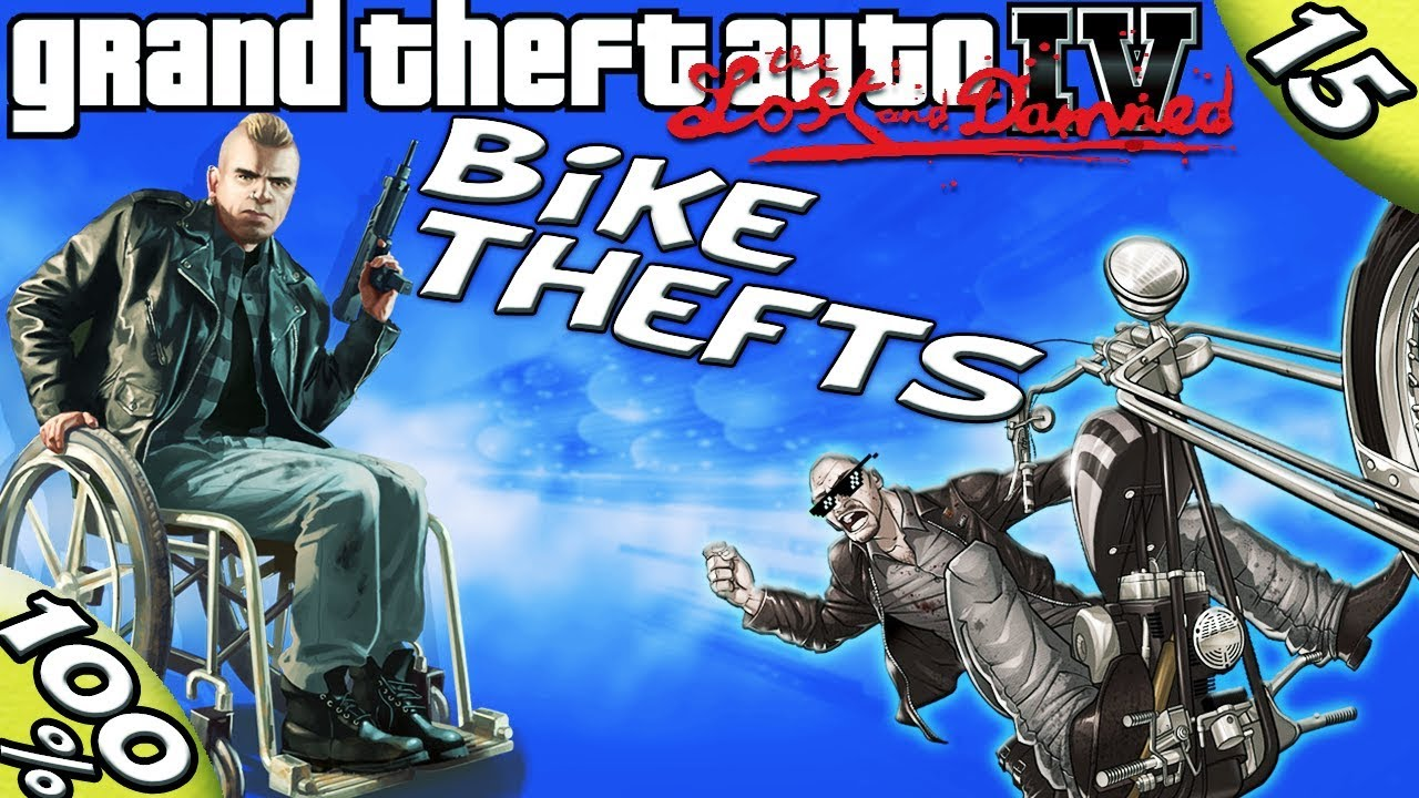 Gta Iv Tlad All 10 Angus Bike Thefts 100 Walkthrough
