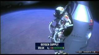 Felix Baumgartner saritura de la 39.068 metri