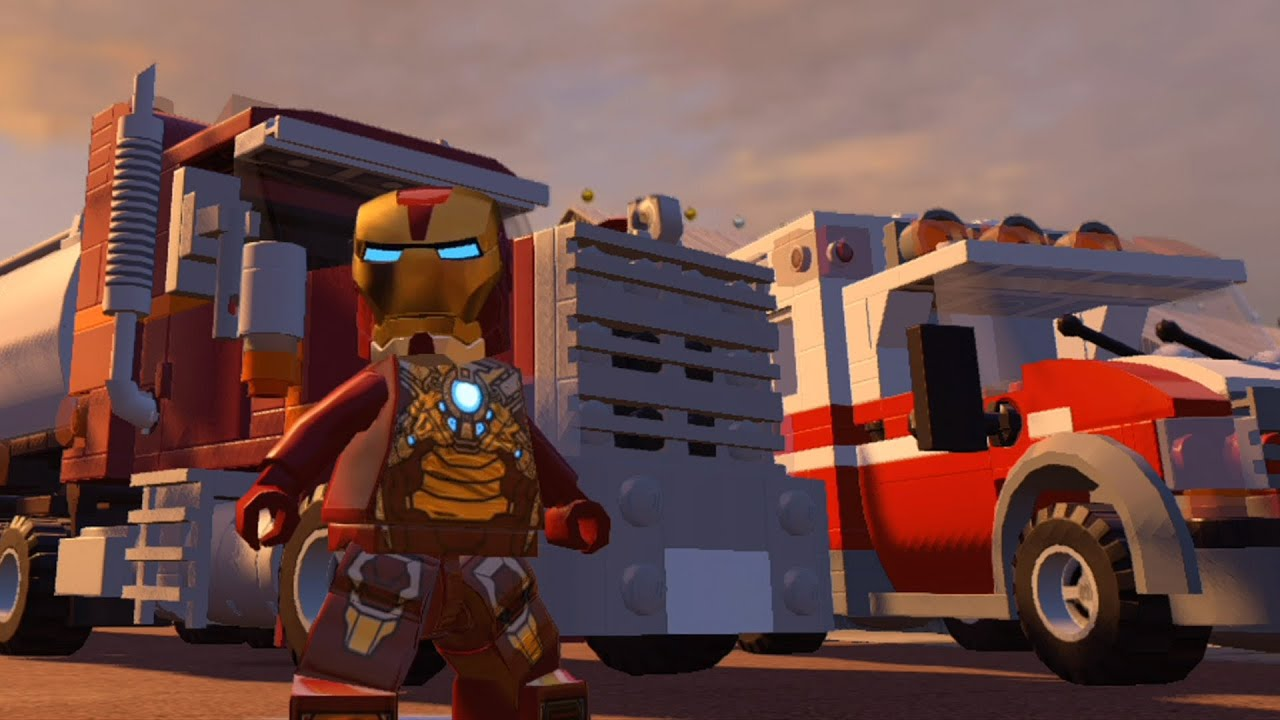 LEGO Marvel's Avengers - All 63 Playable Vehicles Unlocked ...