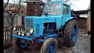 Трактор МТЗ-80  история создания.