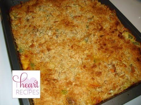 Easy Tuna Casserole - I Heart Recipes