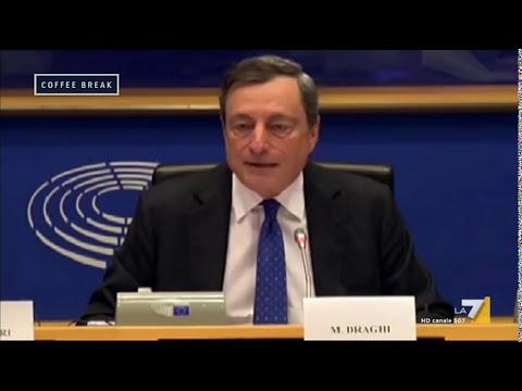 Mario Draghi (Presidente BCE): 'L'Euro è irrevocabile'