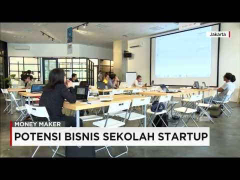 Money Maker:  Potensi Bisnis Sekolah Startup (CNN Indonesia)