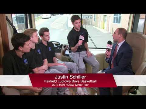 HAN Network FCIAC Winter Sports Tour 2017-18: Fairfield Ludlowe High School  Boys Basketball