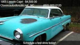 1955 Lincoln Capri  for sale in Nationwide, NC 27603 at Clas #VNclassics