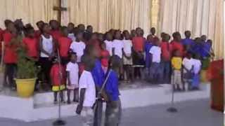 """Christmas Songs""-HOPE Children's Choir at Empowerment Temple Liberia"