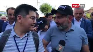 Азаттыктын журналисти Армениянын премьер-министри Никол Пашиняндан интервью алды