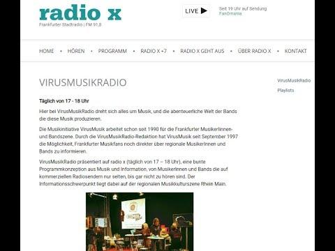 RadioX VirusMusik Hörnerv 13