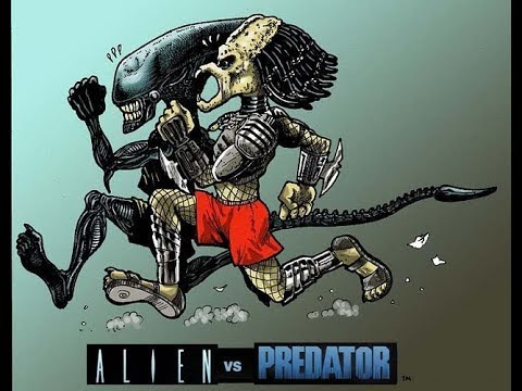 alien vs predator android funny game play - predator and ...