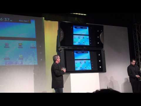 Sprint Keynote Featuring Dual Screen Kyocera Echo