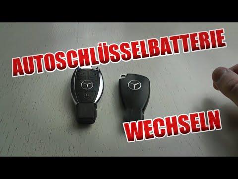 Mercedes Benz Schlüssel Batteriewechsel - Anleitung!