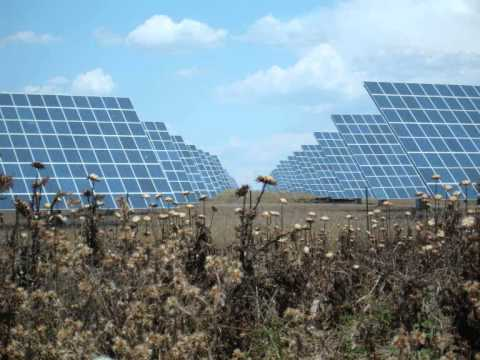 World's 8th Largest Solar Platform, in Amareleja, Portugal
