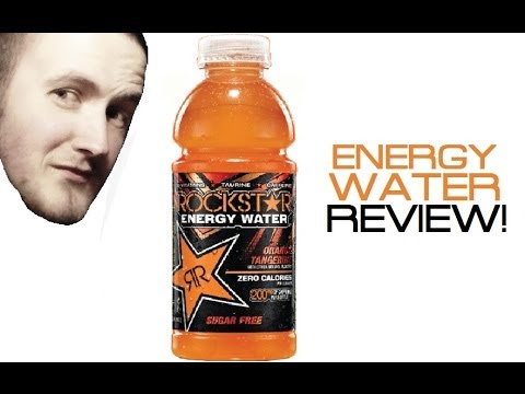TravTries - Rockstar Energy Water: Orange Tangerine Flavor