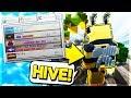NEW HIVE SERVER IN MCPE!!! - Minecraft PE (Pocket Edition)