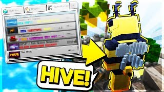 NEW HIVE SERVER IN MCPE!!! - Minecraft PE (Pocket Edition)