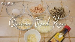 COOKING: Quinoa Fried Rice