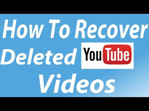 How To Recover Deleted YouTube Videos | Easiest Method |