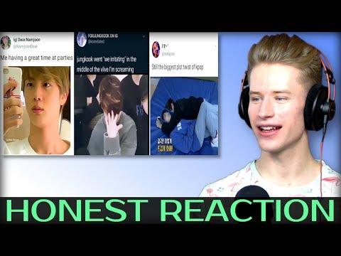 Honest Reaction To Bts Memes To Start Off 2020 Youtube