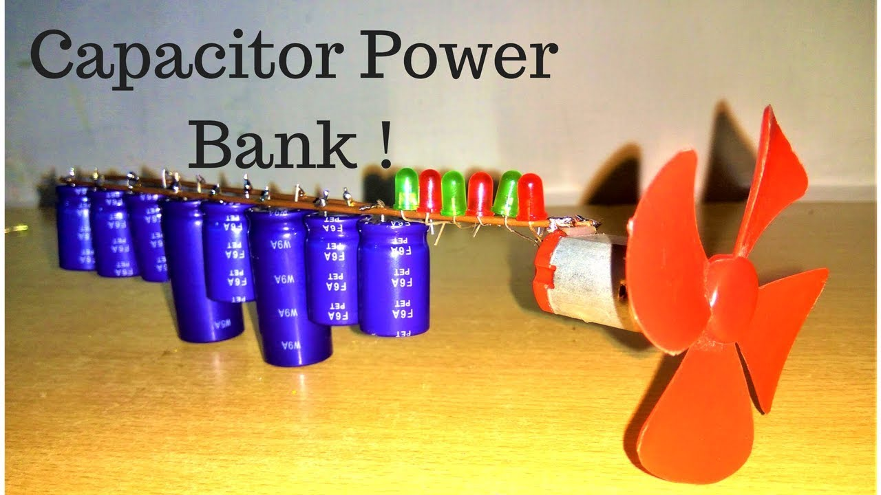 Download HOW TO MAKE SUPERCAPACITOR POWER BANK | ULTRACAPAC