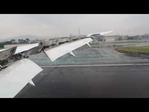 NH853 ANA 全日空台北松山機場(TSA)著陸 Taipei Songshan airport landing