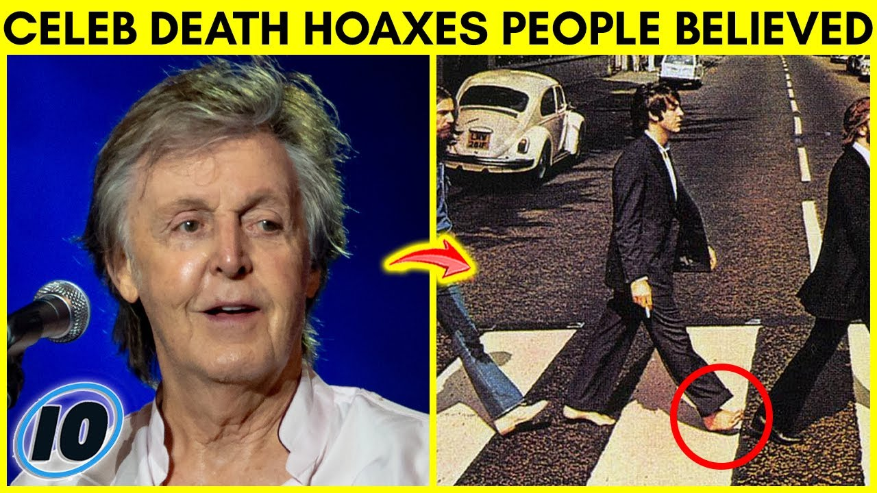 Top 10 Celebrity Death Hoaxes People Actually Believed