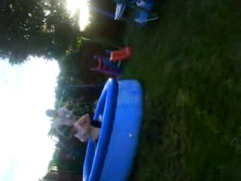Jumping in the pool fully clothed, we're cool! ;)