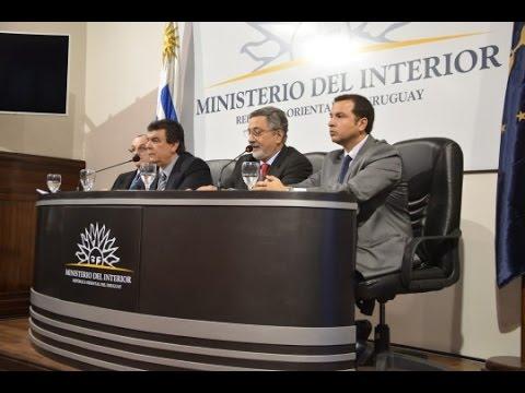 Conferencia De Prensa Del Ministerio Del Interior Y La