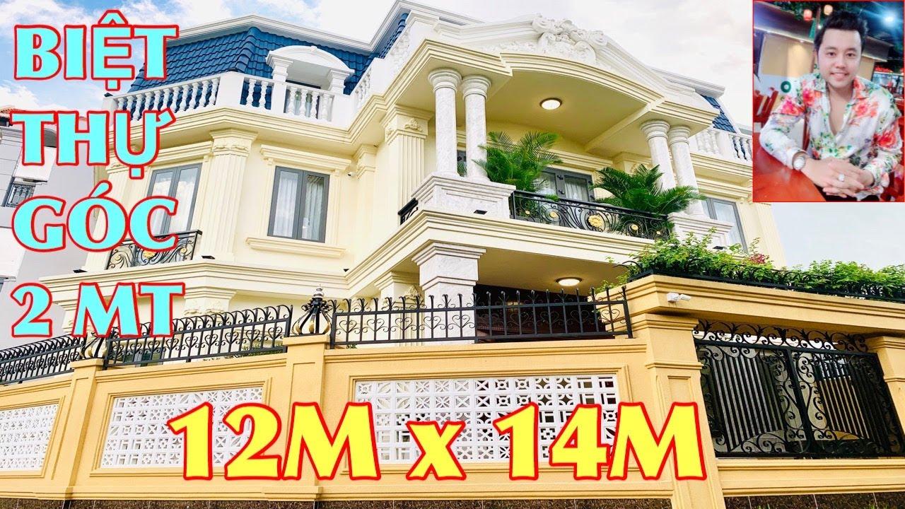 Bán Nhà Gò Vấp | 12M x 14M GÓC 2 MẶT TIỀN. Biệt Thự View Sông Hiếm Có Dương Quảng Hàm Gò Vấp