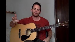 How to Play Trap Queen (Fetty Wap) on Guitar - Acoustic Guitar Tutorial by Jon Rule